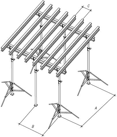 схемы установки опалубки